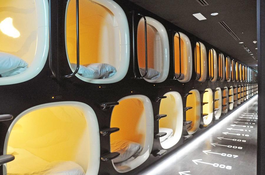 Capsule Hotel at Narita International Airport, Tokyo