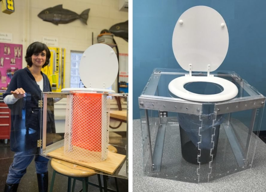 Portable off grid toilets don't need plumbing, water, power: Diana Yousef