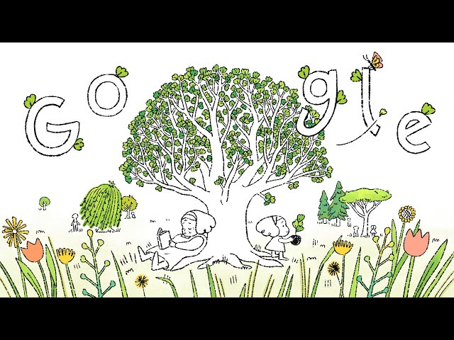 Google Doodle on Earth Day: Plant Seed for Brighter Future