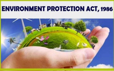 Environment Protection Act, 1986: Policy Matters for Social Change