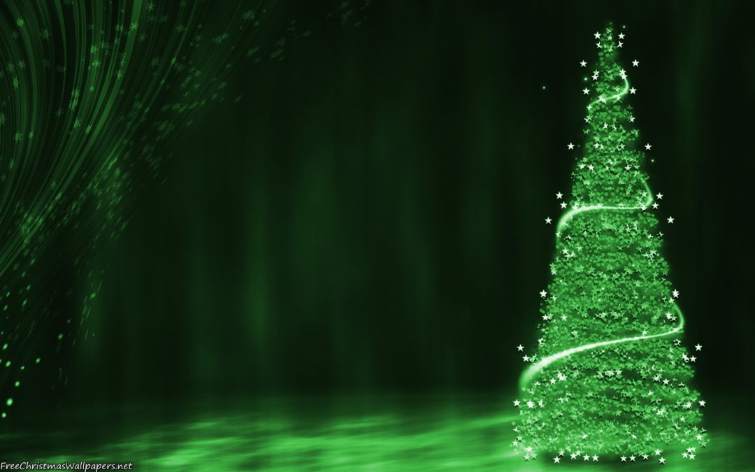 Christmas Green.A Green Christmas Is Something That We All Need