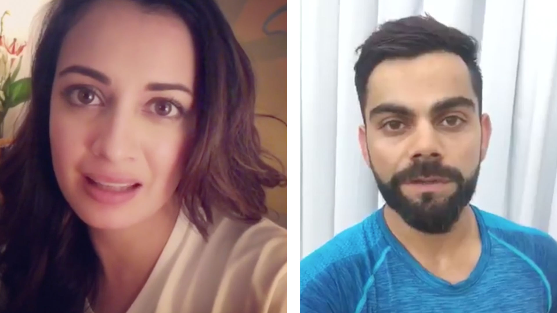 Virat Kohli  to Dia Mirza: Celebrities pitch for green pollution free Diwali