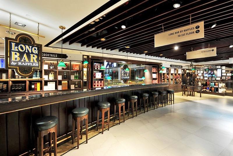 Long Bar by Raffles at Changi Airport, Singapore