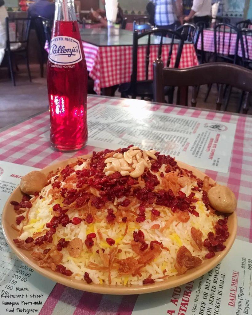 Raspberry Soda and Berry Pulao at Mumbai's Most Popular Parsi Joint Britannia & Company Restaurant