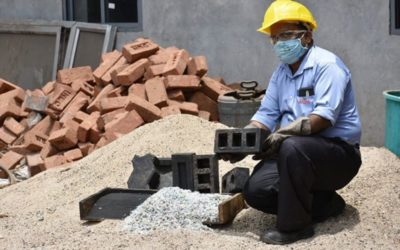 Rhino Machines Converts Plastic Waste and Foundry Dust Into Superior Bricks
