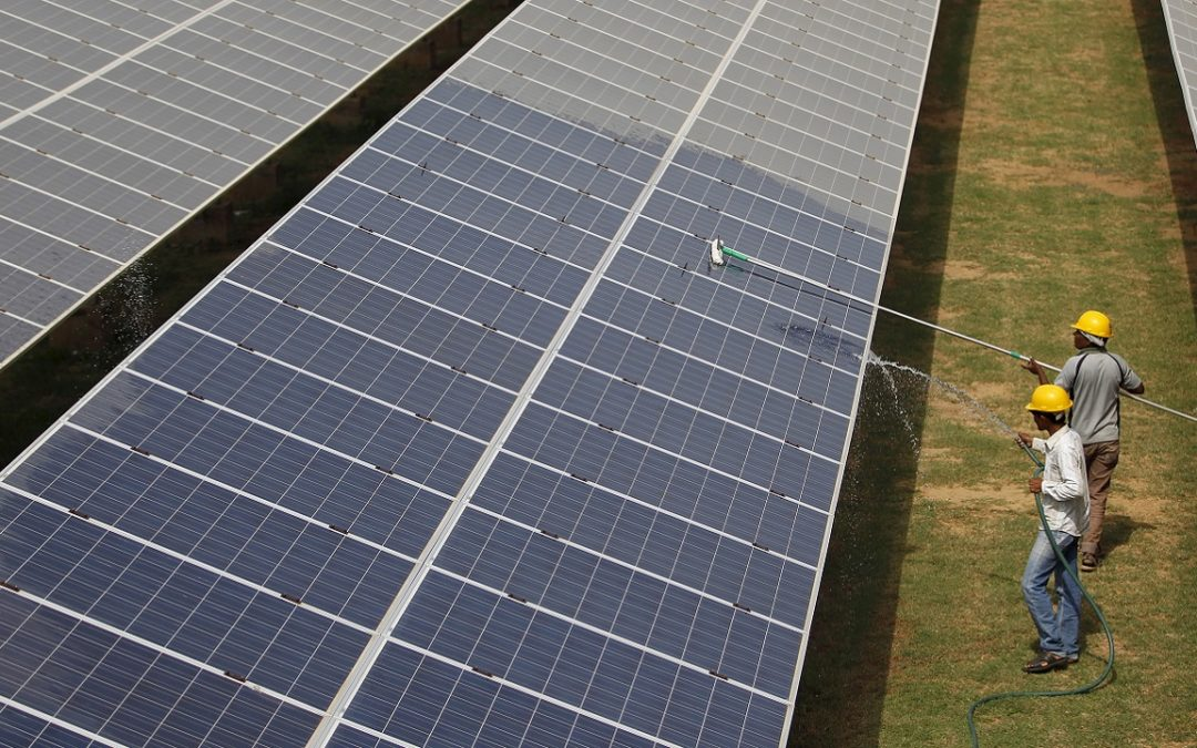 Indian Union Budget for zero import duty on solar power panels