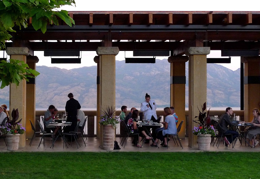 Terrace Restaurant in British Columbia's Okanagan Valley