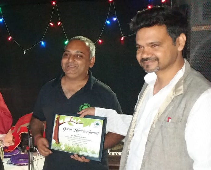 Muqbil Ahmar Gets Green Human Award for Reaching 10 Million Readers