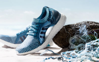 Adidas Is creating shoes out of recycled ocean plastic