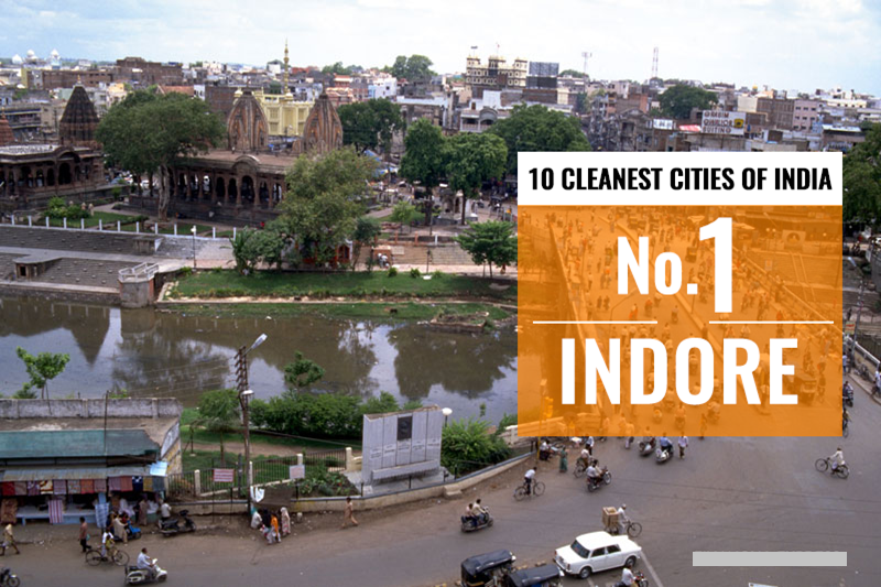 Indore, Bhopal, Chandigarh Ranked Cleanest Cities of India