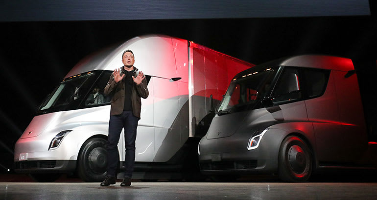 Tesla Semi Truck: A green, sustainable solution to Air Pollution?