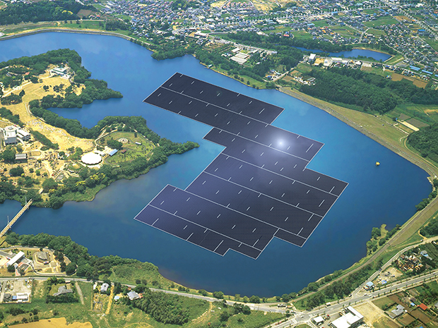 World's largest Floating Solar Power Plant in China: Green Business