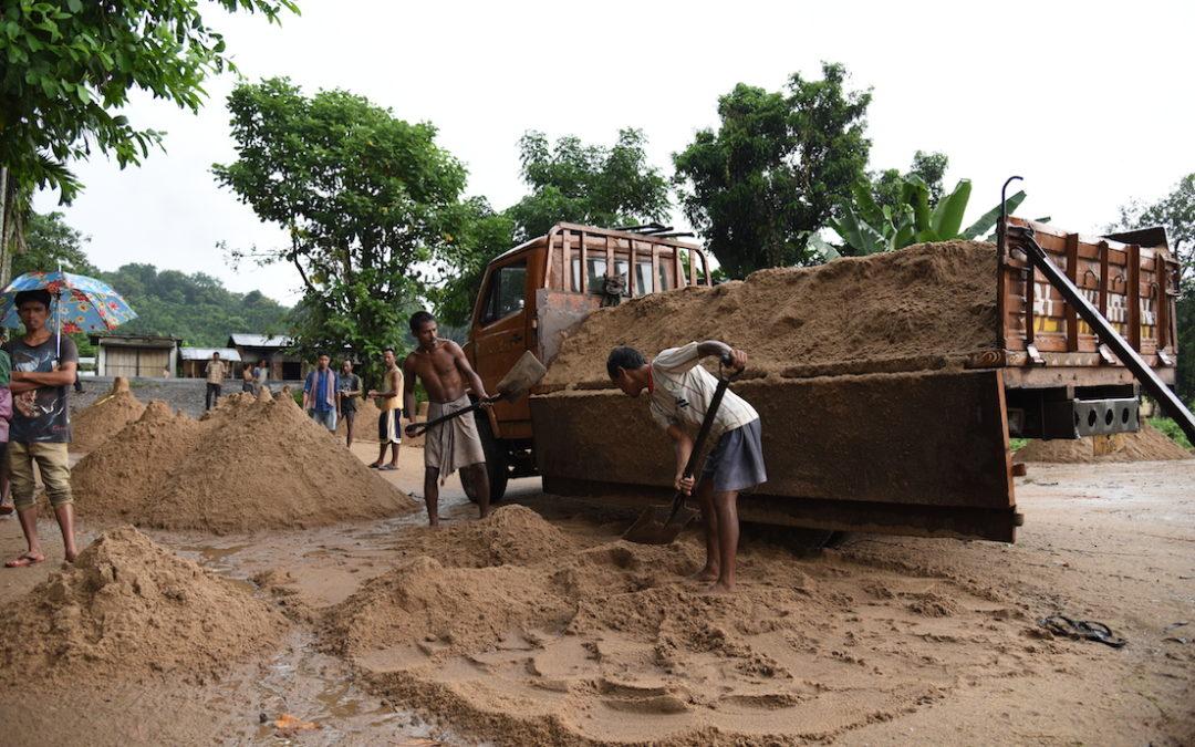 Illegal sand mining destroying Garo Hills ecology in Meghalaya, India