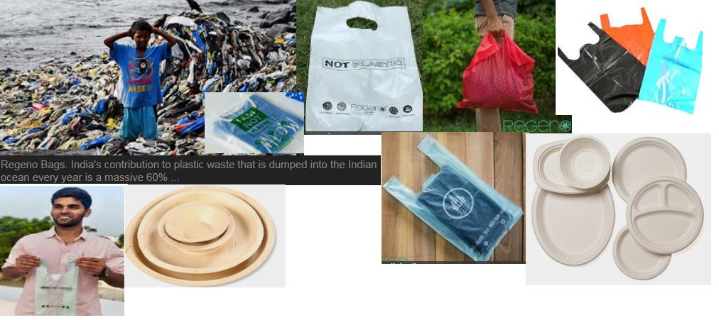 Fight plastics: Indian Regeno makes eco-friendly biodegradable bags