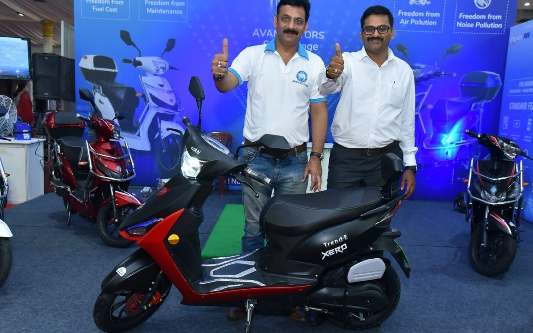 Trend E Electric Scooter from Avan Motors Officially Unveiled
