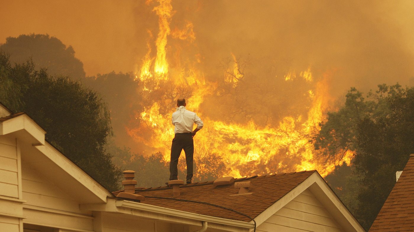 Climate Change is intensifying California's Devastating Wildfires